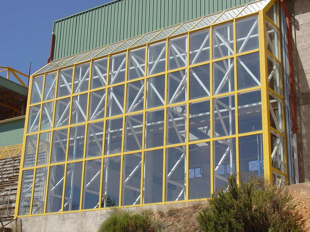 Ventanal aluminio grandes dimensiones