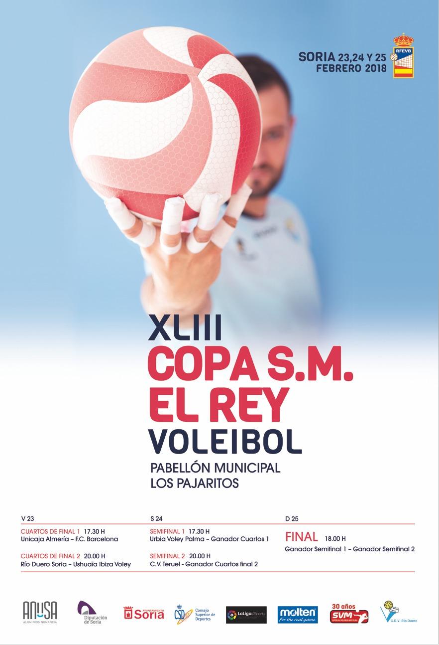 Copa del Rey de Voleibol 2018 en Soria